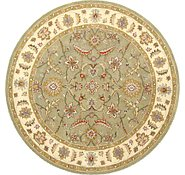 Link to 9' 11 x 9' 11 Classic Agra Round Rug