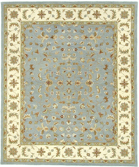 Blue 8' 2 X 9' 10 Classic Agra Rug