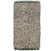 Link to 2' 10 x 5' 3 Solid Shag Rug