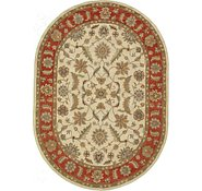Link to 8' x 11' 3 Classic Agra Oval Rug