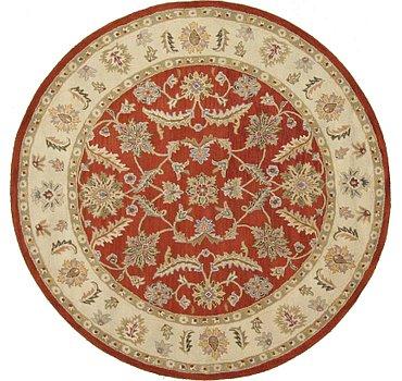 246x246 Classic Agra Rug