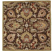 Link to 8' 2 x 8' 2 Floral Agra Square Rug