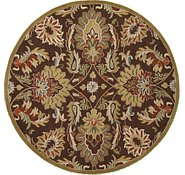 Link to 8' 2 x 8' 2 Floral Agra Round Rug