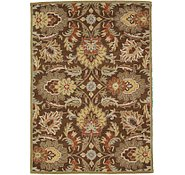 Link to 5' 7 x 7' 10 Floral Agra Rug
