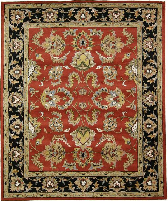 Red 8' 2 X 9' 10 Classic Agra Rug