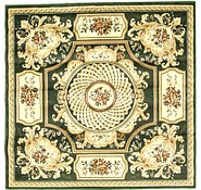 Link to 5' x 5' Classic Aubusson Square Rug