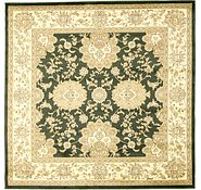 Link to 8' 2 x 8' 2 Isfahan Design Square Rug