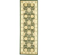 Link to 3' 3 x 9' 10 Isfahan Design Runner Rug