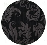 Link to 9' 10 x 9' 10 Floral Agra Round Rug