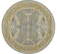 Link to 6' 6 x 6' 6 Classic Agra Round Rug