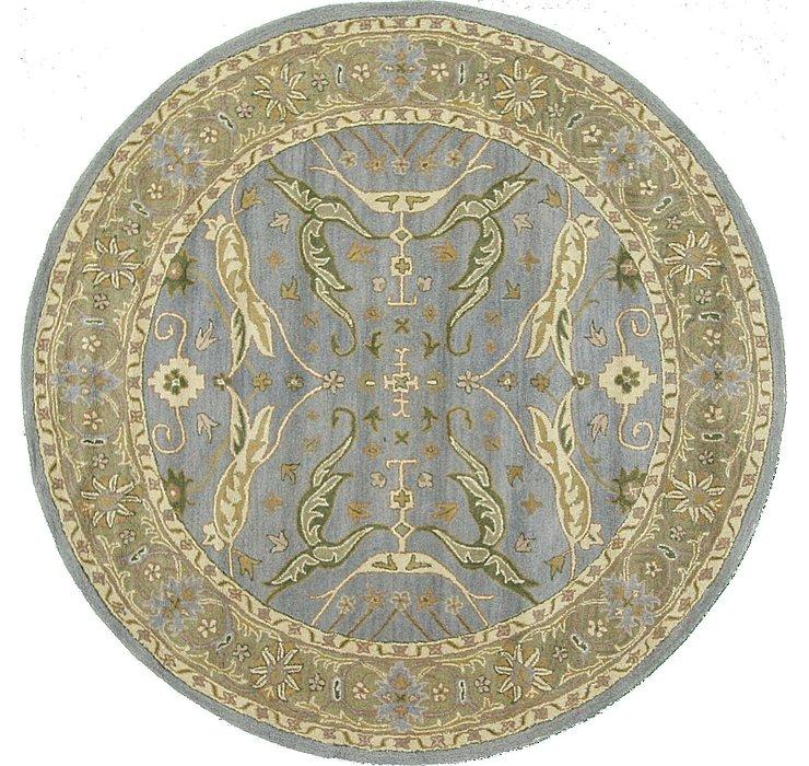 6' 6 x 6' 6 Classic Agra Round Rug