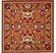 Link to 5' x 5' Damask Square Rug