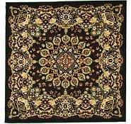 Link to 5' x 5' Mashad Design Square Rug