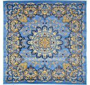 Link to 5' x 5' Mashad Design Square Rug