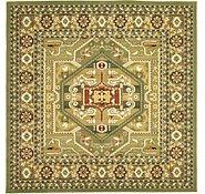 Link to 9' 10 x 9' 10 Heriz Design Square Rug