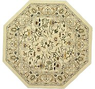 Link to 9' 10 x 9' 10 Tabriz Design Octagon Rug