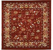 Link to 9' 10 x 9' 10 Tabriz Design Square Rug