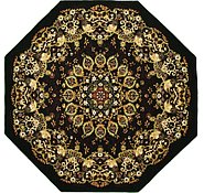 Link to 9' 10 x 9' 10 Mashad Design Octagon Rug