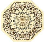 Link to 5' x 5' Mashad Design Octagon Rug