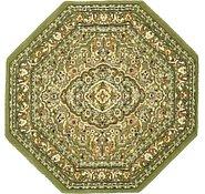 Link to 5' x 5' Kashan Design Octagon Rug