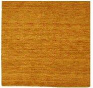 Link to 4' 10 x 4' 10 Handloom Gabbeh Square Rug