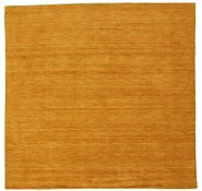 Link to 9' 6 x 9' 10 Handloom Gabbeh Square Rug