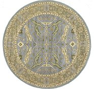 Link to 6' 7 x 6' 7 Classic Agra Round Rug