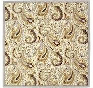 Link to 12' 2 x 12' 2 Floral Agra Square Rug