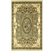 Link to 6' 5 x 9' 10 Carved Aubusson Rug