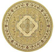 Link to 8' 2 x 8' 2 Mashad Design Round Rug