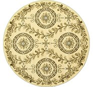 Link to 8' 2 x 8' 2 Classic Aubusson Round Rug