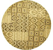 Link to 9' 10 x 9' 10 Cut & Loop Round Rug