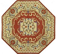 Link to 8' 2 x 8' 2 Classic Aubusson Octagon Rug