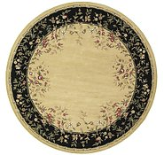 Link to 12' 2 x 12' 2 Classic Aubusson Round Rug