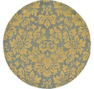 Link to 9' 8 x 9' 8 Reproduction Gabbeh Round Rug
