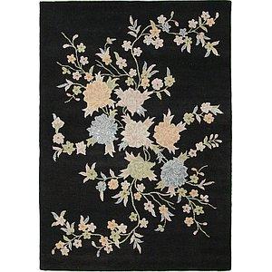 7' 3 x 10' 2 Floral Agra Rug
