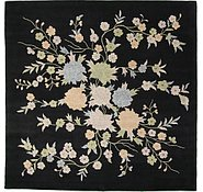 Link to 11' 11 x 11' 11 Floral Agra Square Rug
