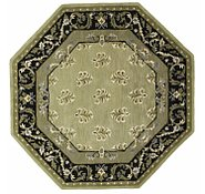 Link to 8' 1 x 8' 1 Classic Aubusson Octagon Rug