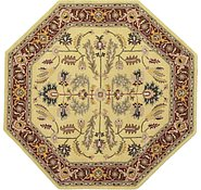 Link to 8' 1 x 8' 1 Geometric Agra Octagon Rug