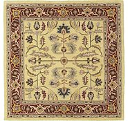 Link to 6' 6 x 6' 6 Geometric Agra Square Rug