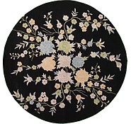 Link to 11' 11 x 11' 11 Floral Agra Round Rug
