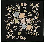 Link to 6' 5 x 6' 5 Floral Agra Square Rug