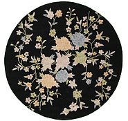Link to 6' 7 x 6' 7 Floral Agra Round Rug