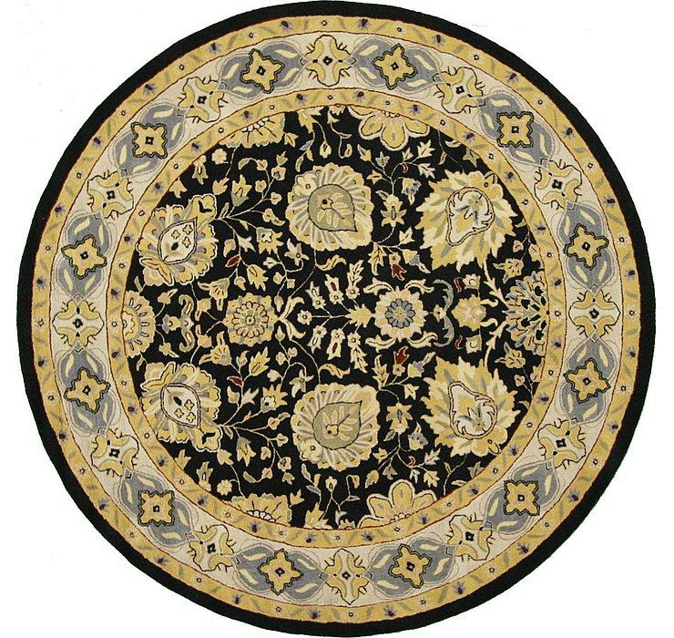 9' 9 x 9' 9 Classic Agra Round Rug