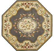 Link to 8' x 8' Classic Aubusson Octagon Rug