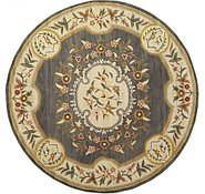 Link to 11' 11 x 11' 11 Classic Aubusson Round Rug
