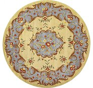 Link to 11' 10 x 11' 10 Classic Aubusson Round Rug