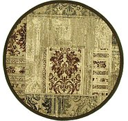 Link to 5' 3 x 5' 3 Reproduction Gabbeh Round Rug