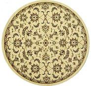 Link to 7' 9 x 7' 9 Tabriz Design Round Rug