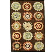 Link to 5' 3 x 7' 10 Reproduction Gabbeh Rug